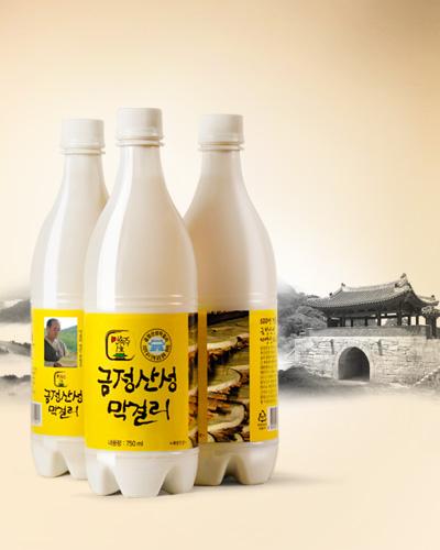 금정산성막걸리10병(종이박스배송)